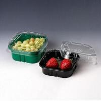 Buy cheap Disposable Fruit Containers, Made of PET Material, Various Sizes, Colors, Designs Available from wholesalers