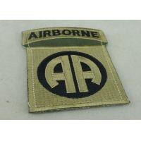 Buy cheap Toys And Packages Air Borne Patches Woven Label For American Military from wholesalers