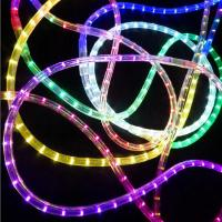 Buy cheap 2 wires 13mm round LED flexible rope light R/Y/G/B/W/WW LED color lighting CE ROHS 230V from wholesalers