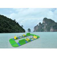 Buy cheap Island Inflatable Water Park , Fantastic amusement parks For Commercial Event from wholesalers