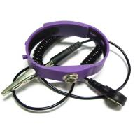 Buy cheap Silicon Anti Static Wristband Coil Cord Dia. 2.5mm Length 2.4m Purple Pink Blue Yellow from wholesalers