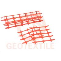 Buy cheap 4450 Psi Construction Barrier Fence , 100g / M² Heavy Duty Plastic Mesh Barrier Fencing product