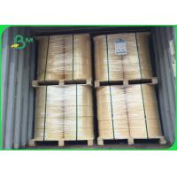 Buy cheap Food Grade 60g 120g Brown Roll Straw Paper Rolls For Straw Drinking Paper from wholesalers