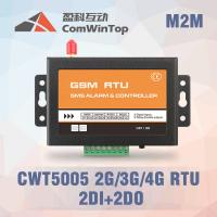 Buy cheap CWT5005B Industrial GSM RTU Controller SMS Alarm With 2Di 1 Relay Output product