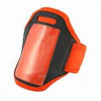 China Neoprene Dual Fit Sports Armband for iPhone and iPod (Red) on sale