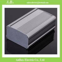 Buy cheap 95*55*80/95/100/120/130/180mm DIY wall mount aluminum enclosures for electric box from wholesalers