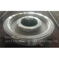 Buy cheap EN JIS ASTM AISI BS DIN Forged Wheel Blanks Parts Grinding Wheel Helical Ring Gear Wheel from wholesalers
