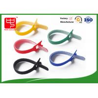 Buy cheap Self Adhesive hook and loop fasteners black cable ties eco - friendly from wholesalers