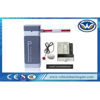 Buy cheap Smart Parking Barrier Gate System Inverter AC Motor Aluminium Alloy Arm Material from wholesalers