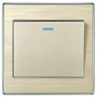 Buy cheap 10A one gang one way light switch from wholesalers