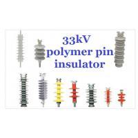 Flameproof Composite Polymeric 33kv Post Insulator Pedestal Type