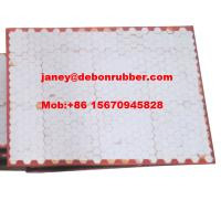 Buy cheap excellent quality alumina ceramic hexagonal tiles polyurethane wear liner plate from wholesalers