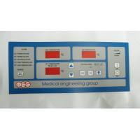 Buy cheap Matte Finish Keypad PET Membrane Overlays Pantone for Home Appliance with ODM Available from wholesalers
