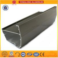 Buy cheap Electrophoresis Coating Industrial Aluminium Profile , Customize Cylinder Aluminium Extrusion Profile from wholesalers