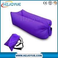 Buy cheap Factory detect sell OEM LOGO Fast inflatable sleeping bag/inflatable air bed lazy lounger air sofa bag from wholesalers