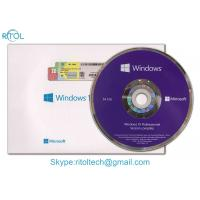 Buy cheap 32 Bit / 64 Bit Windows 10 Pro COA Sticker OEM Retail Box For Operating System product