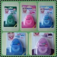 Buy cheap 50m triangle wax mint dental floss approved FDA and ISO9001 certificate from wholesalers