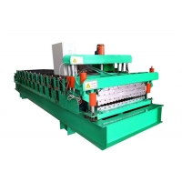 Buy cheap Automatic Roofing Sheets Colored Steel Wall Panels Double Layer Roll Forming Machine from wholesalers