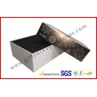 Buy cheap Luxury Custom Cosmetic Boxes / Cosmetic Product Packaging With Snow Pic Lid , Matt Finish from wholesalers