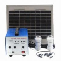 Buy cheap Portable Solar Lighting System for Remote Areas, with LED Bulb and Cell Phone Charger from wholesalers