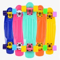 Losenka MS309 22.5inch candy color plastic skateboard with 3.25 inch aluminum