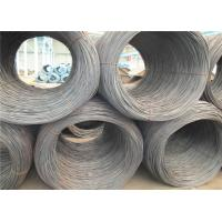 Buy cheap ER70S-3 Black Hot Rolled Wire Rod 5.5mm Diameter ISO Approval from wholesalers