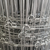 Buy cheap Galvanized Page 2.3m Woven Wire Mesh For Hinge Joint Field Fence from wholesalers