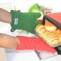 Buy cheap ECO - Friendly Customized Kitchen Oven Mitts/Baking Glove with Logo Embroidery from wholesalers