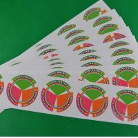 Buy cheap White Vinyl Gloss Labels product