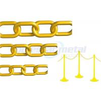 Buy cheap Safety colorful Decorative Plastic Chain Link  , 11mm Width Plastic Gear Chain from wholesalers
