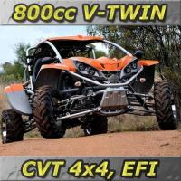Buy cheap NEW 4WD - 800CC EFI V-TWIN, CVT 4x4 Go Kart (GK800-FS) from wholesalers