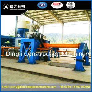 Buy cheap semi-automatic concrete pipe machine product