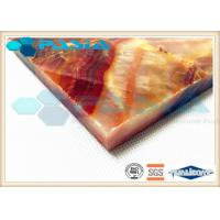 Buy cheap Moisture Proof Aluminum Honeycomb Ceiling Tiles , Lightweight Panel Board from wholesalers