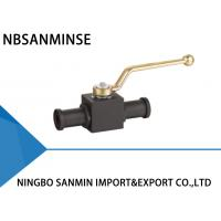 Buy cheap KHB KHM Shut Off Hydraulic Ball Valve Carbon Steel 16mm 20mm 25mm Diameter With SAE Flange from wholesalers