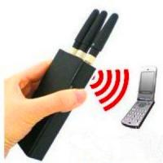 Buy cheap Portable 2G 3G Mobile Phone Signal Jammer / Breaker / Isolator EST-808HB from wholesalers