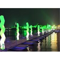 Buy cheap Inflatable Wave Led Lighting Color Changing Led For Dark Road from wholesalers