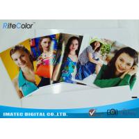 Buy cheap 4R A1 A2 Inkjet Printing Cast Coated Photo Paper Glossy Anti Curling from wholesalers