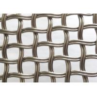 Buy cheap 3D Effect SS304 Woven Wire Mesh Panels For Window Glass Wall Decoration from wholesalers