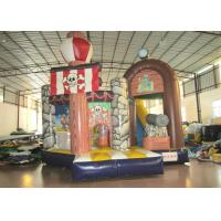Buy cheap Commercial Pirate Ship Bounce House , Indoor Playground Pirate Ship Bouncer 5 X 6m from wholesalers