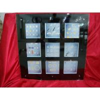 Buy cheap 9 Compartments Black Transparent Acrylic Photo Frames 30 * 30 inch product