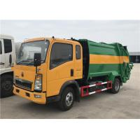 Buy cheap HOWO 4X2 8m3 Garbage Compactor Truck 5tons Waste Collector Truck Compressed Garbage Truck from wholesalers