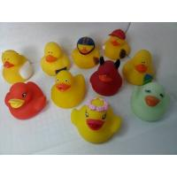 Buy cheap Bath Floating Mini Rubber Ducks Harmless Holiday Design For Children Gifts from wholesalers