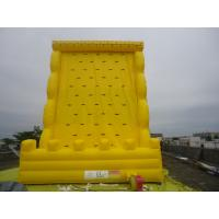 Buy cheap Funny Giant Inflatable Sports Games / Climbing Wall For Amusement Park Equipment For Family from wholesalers