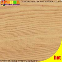Buy cheap Heat Transfer High Temperature Powder Coating Wood Finish For Aluminium Profile from wholesalers