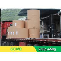 Buy cheap CCNB Coated Board Paper Grey Back For Making Boxes Good Stiffness from wholesalers