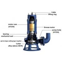 Buy cheap XWQ Submersible sewage pump with spiral shape cutting type impeller/waste water pump/slurry pump/centrifugal sump pump from wholesalers