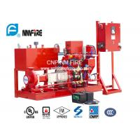 Buy cheap NFPA20 Standard Diesel Engine Driven Fire Water Pump For Residential / Industrial from wholesalers