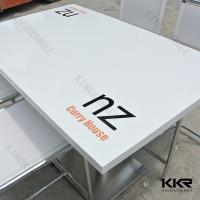 Buy cheap Dining Room Table Solid Surface Table / Hotel Coffee Table 800mm x 1200mm from wholesalers