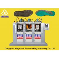Buy cheap Static Three Stations Shoe Sole Moulding Machine , TPU TPR TR PVC Sole Making Machine from wholesalers