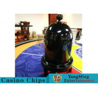 Buy cheap Security Fair Casino Game Accessories Black Color Automatic / Manual Dice Cup from wholesalers